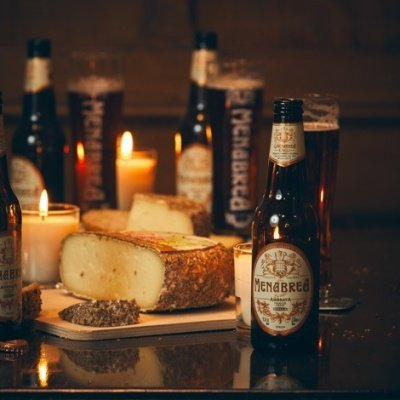 When beer meets cheese